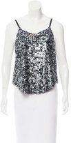 Calypso Sequined Sleeveless Top