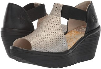 Fly London YEMO146FLY (Black Mousse) Women's Shoes