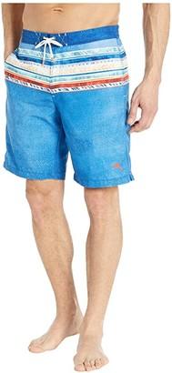 Tommy Bahama Baja Beach Trek Boardshorts (Turkish Sea) Men's Swimwear