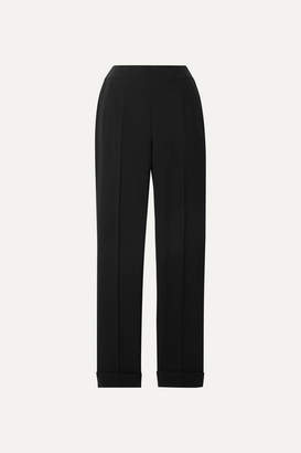 Akris Chris Crepe Tapered Pants - Black