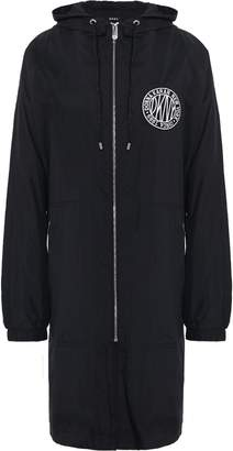 DKNY Applique Shell Hooded Raincoat