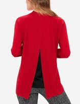 The Limited Split Back Funnel Neck Sweater