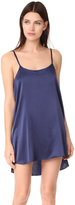 Nudwear Mini Silk Slip Dress