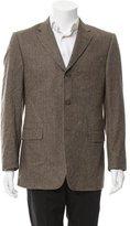 Burberry Wool Herringbone Blazer