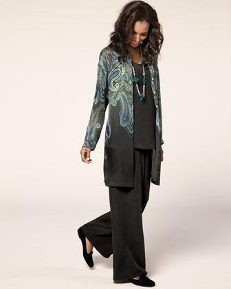 Go Silk Go by Longer Silk Tank, Women's