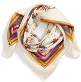 Tory Burch Women's Dancers Silk Square Scarf