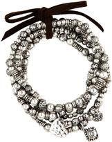 Nine West Set of Five Stretch Bracelets