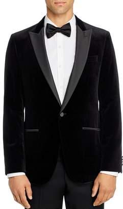 HUGO Harvey Velvet Slim Fit Tuxedo Jacket