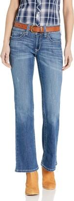 Ariat Women's R.E.A.L Mid Rise BootcutJean