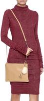 Velvet Double Layered Jersey Dress