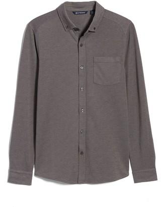 Cutter & Buck Reach Button-Down Pique Knit Shirt