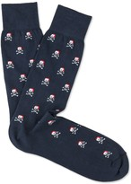 J.Mclaughlin Christmas Skull Socks