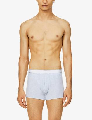 Derek Rose Marl classic-fit stretch-jersey trunks