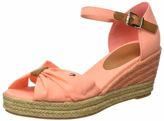 Tommy Hilfiger Women's Basic Opened Toe Mid Wedge Sandals