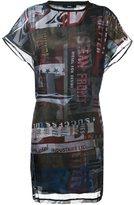 Diesel printed T-shirt dress