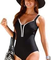 Tomteamell Women Sexy One Piece Swimsuit Straps Monokini Bathing Suit XL