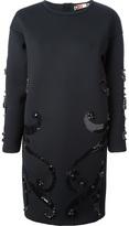 MSGM embellished shift dress