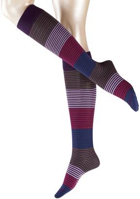 Falke Women's Stripes Knee-High Casual Sock