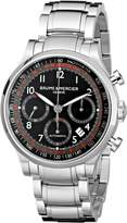 Baume & Mercier Men's MOA10062 Automatic Stainless Steel Dial Chronograph Watch