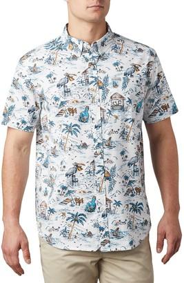 Columbia Men's Rapid Rivers Printed Shirt