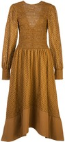 Proenza Schouler White Label broderie anglaise flared dress