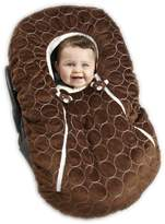 NoJo Double Zipper Baby Cover Up, Brown (Discontinued by Manufacturer)