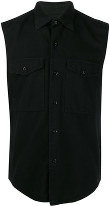 Ami Sleeveless Overshirt