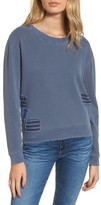 Stateside Women's Patches Destroyed Sweatshirt
