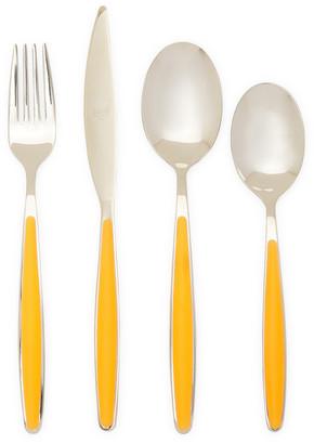 Mepra Caramella Orange Set 24Pc Cutlery Set