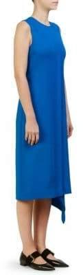 Cédric Charlier Pleat-Front Dress