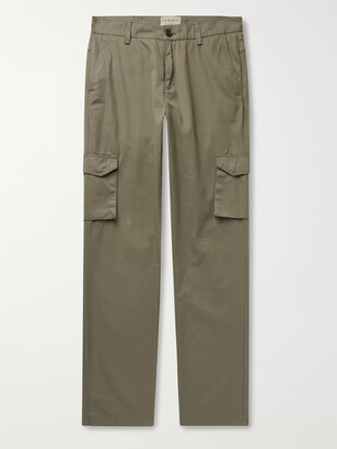 JAMES PURDEY & SONS Cotton-Ventile Cargo Trousers - Men - Green