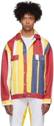 Études Multicolor Karl Kani Edition Linen Denim Vertige Jacket