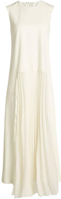 Maison Margiela Wool Maxi Dress
