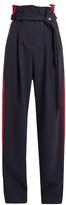 Awake Paperbag-waist wide-leg trousers