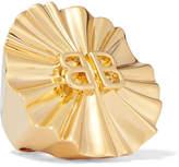 Balenciaga Gold-tone Ring - 52