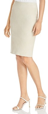 Theory Suede Pencil Skirt