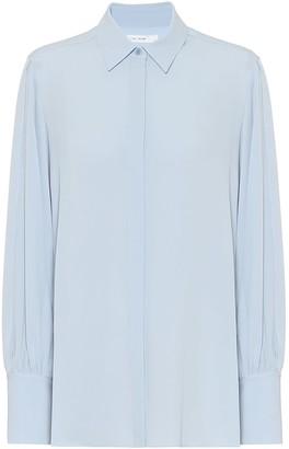 The Row Exclusive to Mytheresa Oni silk shirt