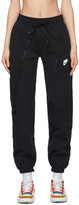 Thumbnail for your product : Nike Black Sportswear NSW Lounge Pants