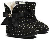 Michael Kors Girls Grace Embellished Suede Boot Infant