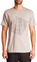 Public School Kissen Heathered Text Print Tee