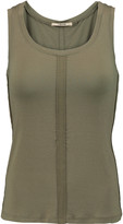 J Brand Cotton and linen-blend tank