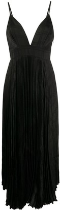 FEDERICA TOSI Long Pleated Dress