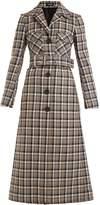 KWAIDAN EDITIONS Notch-lapel checked wool coat