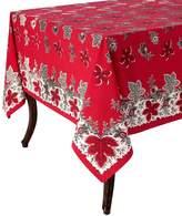 Kaf linens Bontanique Holiday Tablecloth