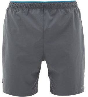 2XU Xvent Technical-jersey Shorts - Mens - Grey