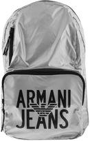 Giorgio Armani Jeans Packaway Backpack Bag Grey