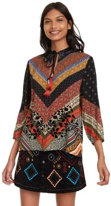 Desigual Blouse with 3/4 Sleeves
