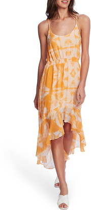 1 STATE Tie Dye High/Low Dress