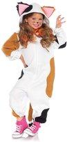 Leg Avenue Calico Cat Kigarumi Funsie Costume for Kids