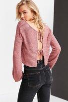 Kimchi & Blue Kimchi Blue Jessie Tie-Back Cropped Sweater